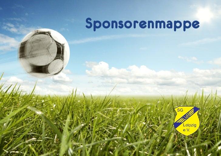 Sponsorenmappe