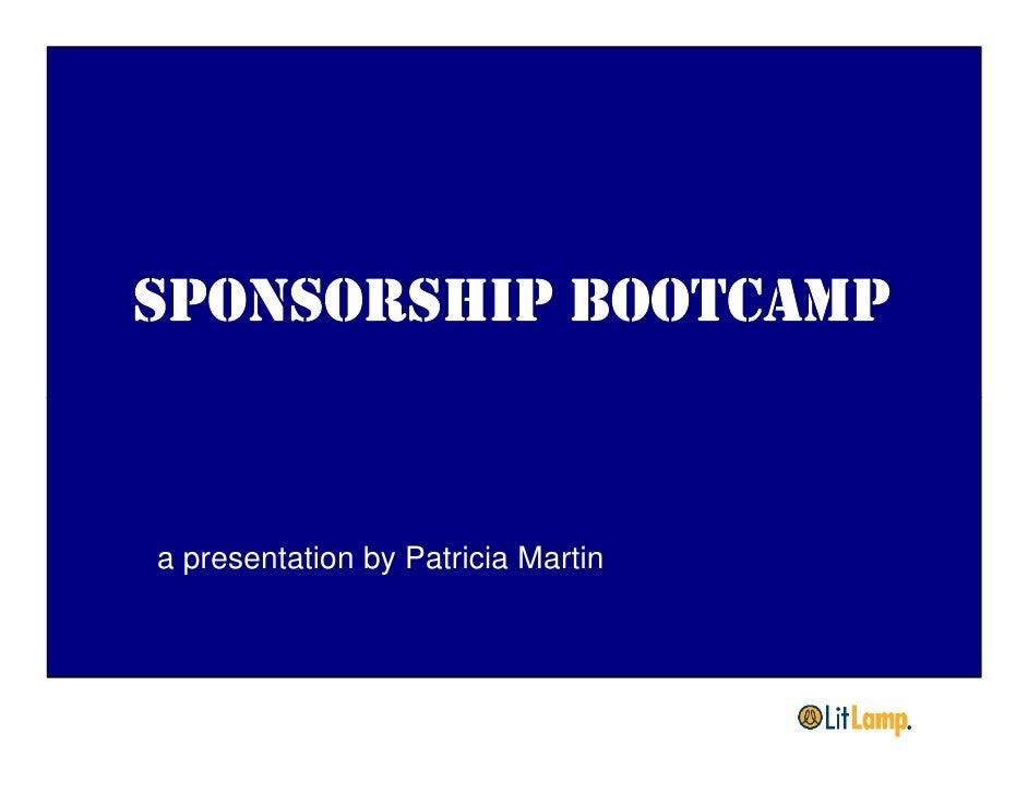 a presentation by Patricia Martin