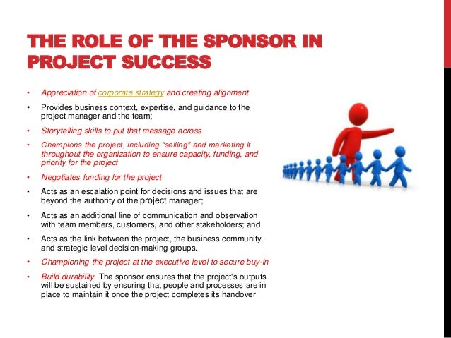 Image result for project sponsor