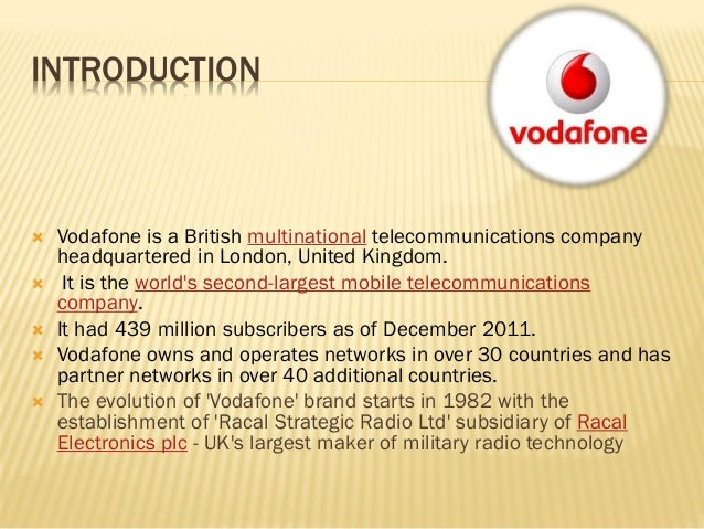 vodafones marketing mix What is the swot analysis of vodafone in india update cancel promoted by aha a new home for product managers.