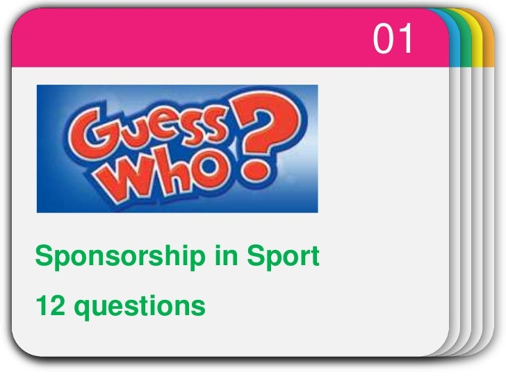01<br />WINTER<br />Sponsorship in Sport<br />12 questions<br />Template<br />