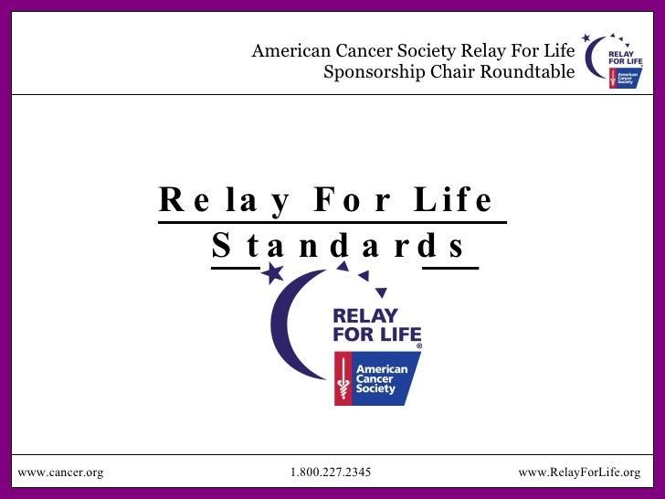 Sponsorship power point american cancer society toneelgroepblik Choice Image