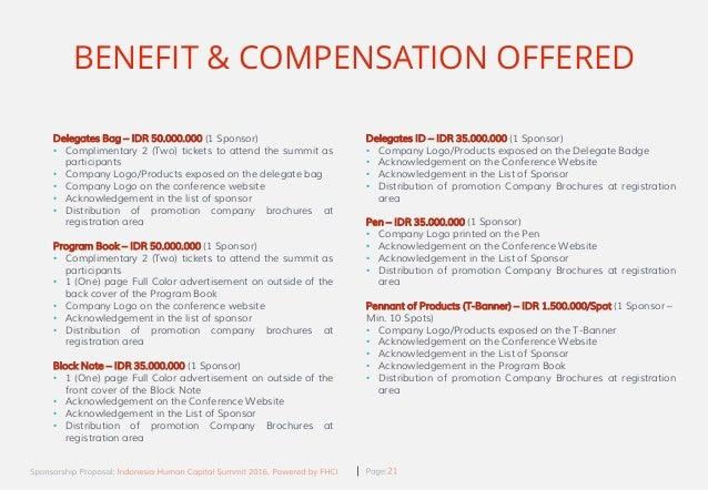 exhibition sponsorship proposal