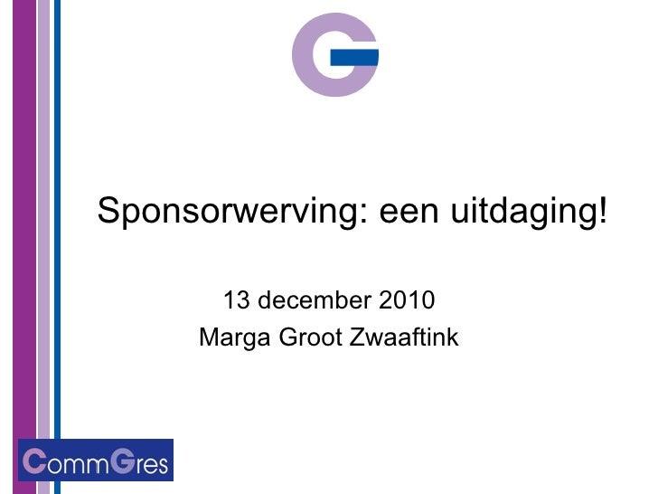 voorbeeldbrief sponsorwerving Sponsorwerving voor uw congres/event voorbeeldbrief sponsorwerving