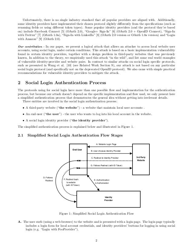 SpoofedMe - Intruding Accounts using Social Login Providers  Slide 2