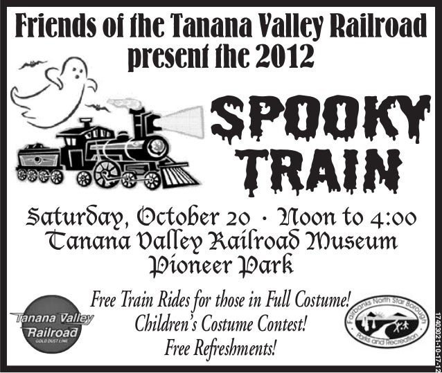 Free Train Rides for those in Full Costume!                                              17403021-10-17-12       Children'...