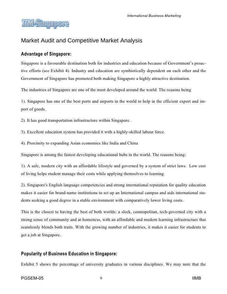 Marketing audit subway essay