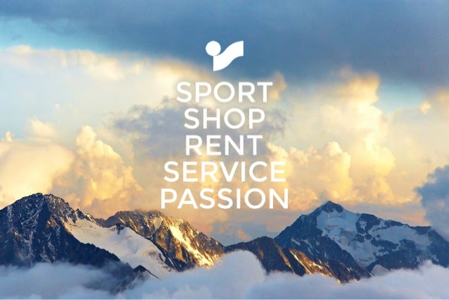 SHOP SPORT RENT SERVICE PASSION