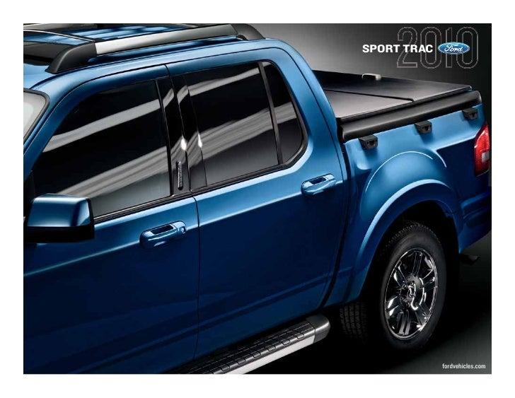 SPORT TRAC                  fordvehicles.com