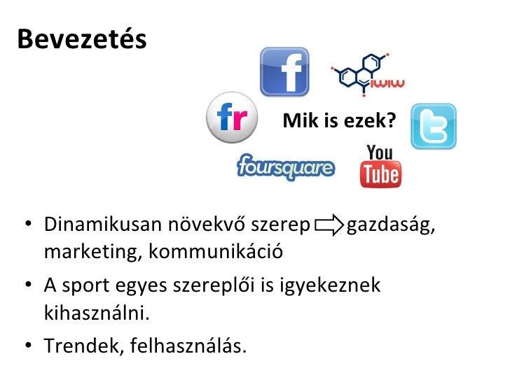 Sport a közösségi médiában Slide 2