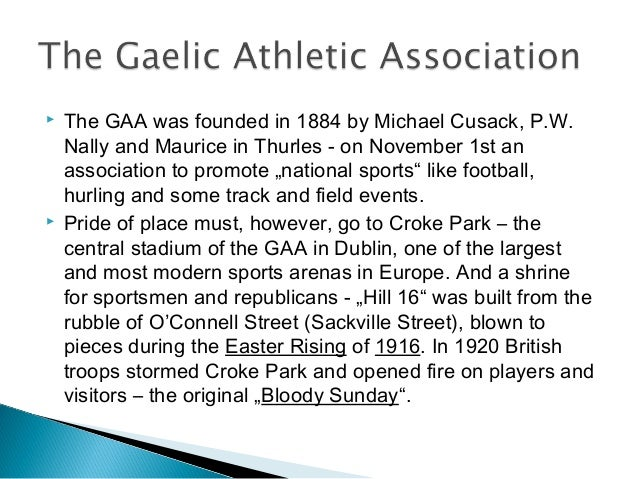Gaelic Athletic Association