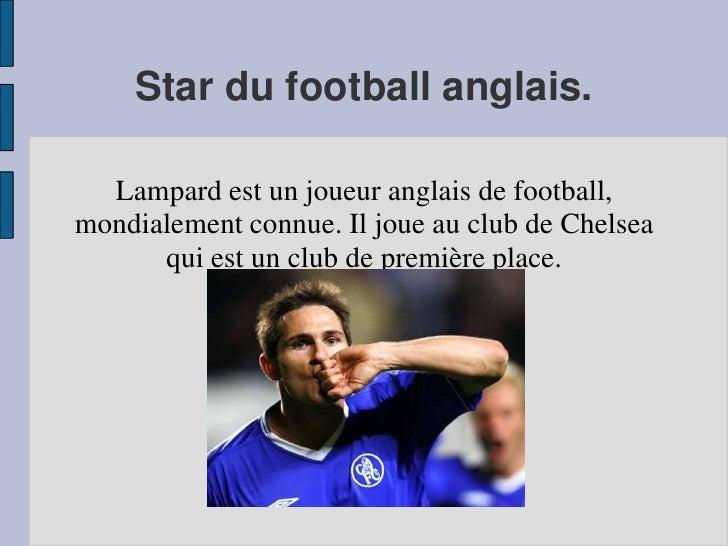 description d une star en anglais