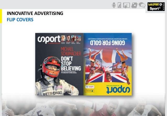 INNOVATIVE ADVERTISINGFLIP COVERS