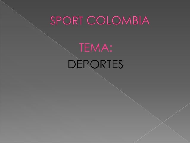 TEMA: DEPORTES