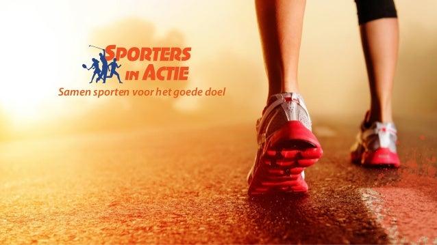 Samen sporten voor het goede doel