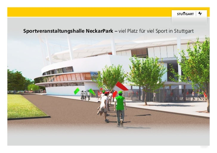 Neue Sporthalle im NeckarPark