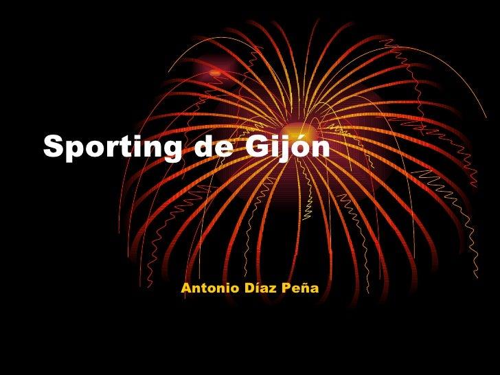 Sporting de Gijón Antonio Díaz Peña