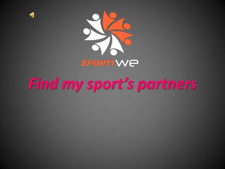 Find my sport's partners