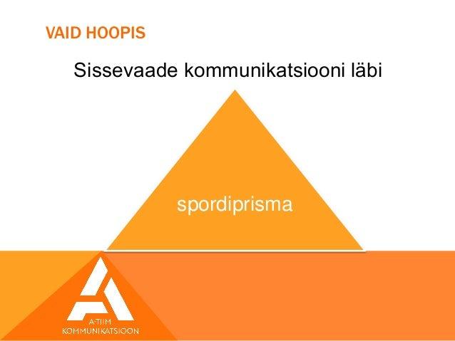 Sport kui kommunikatsioon Slide 3