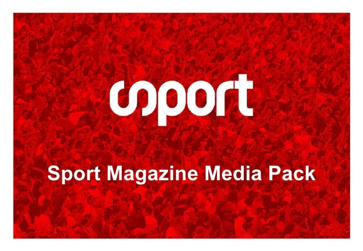 Sport Magazine Media Pack