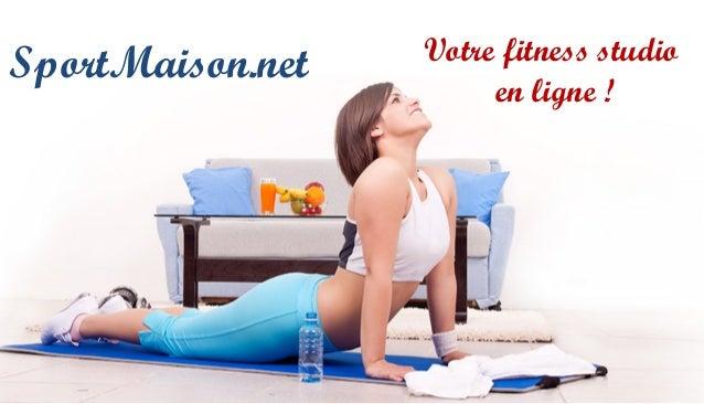 SportMaison.net Votre fitness studio en ligne !