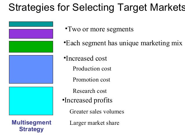 an analysis of demographic and psychographic segmentation in the concentrated marketing strategy Market segmentation  outline the role of market segmentation in developing a marketing strategy  8- 15 segmenting consumer markets demographic segmentation:.