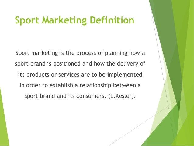Sport Marketing-Final presentation-German University in Cairo-MBA-Mar2013 Slide 3