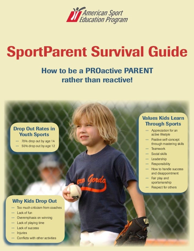 Drop Out Rates in Youth Sports — 70% drop out by age 14 — 50% drop out by age 12 Values Kids Learn Through Sports — ...
