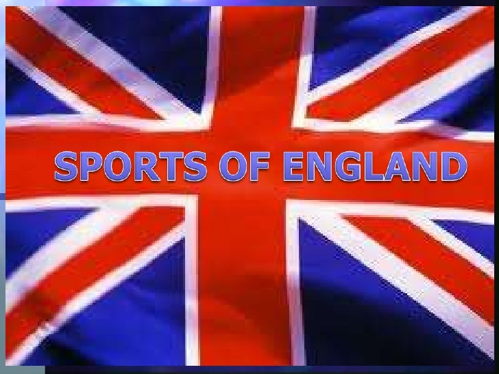 SPORTS OF ENGLAND<br />