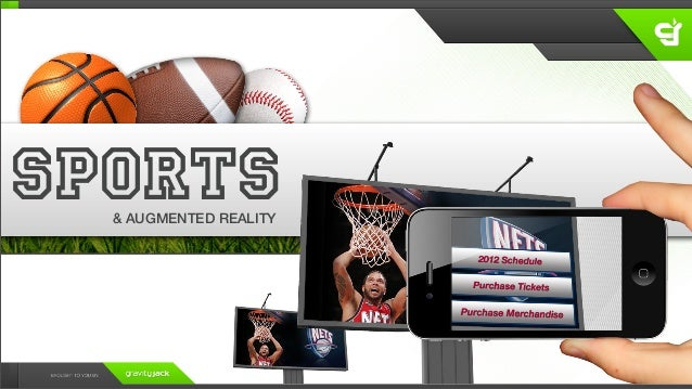 SPORTS  & AUGMENTED REALITY