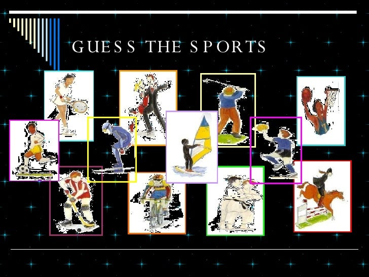 GUESS THE SPORTS