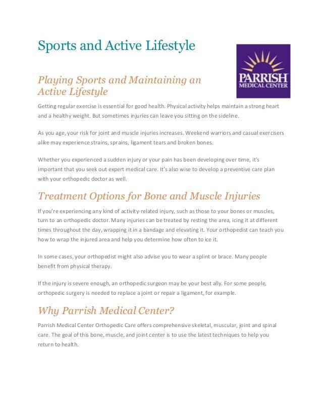 Orthopedic Surgeon Lifestyle