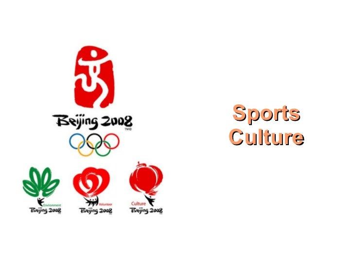 Sports Culture