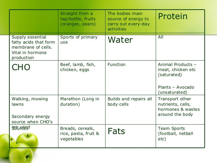 Diet plan for netball player