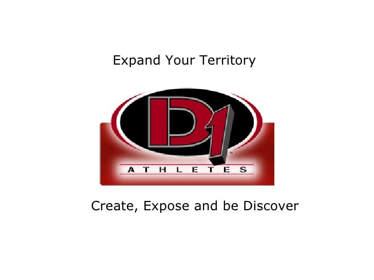 Expand Your Territory Create, Expose and be Discover