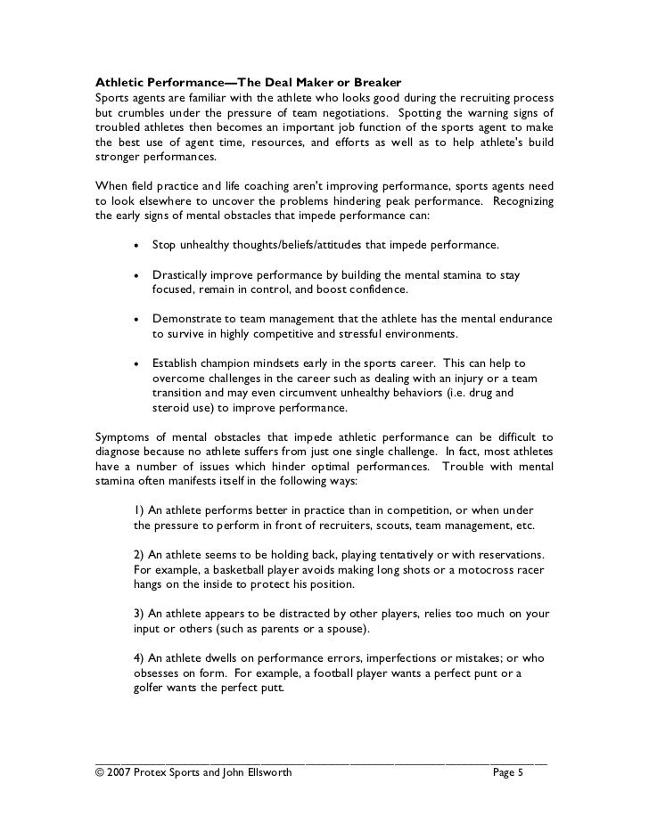 sports management business plan