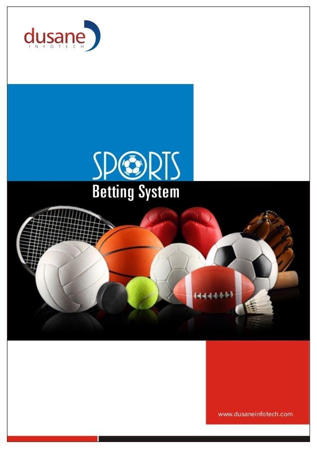 Sports betting system brochure – Sports Brochure
