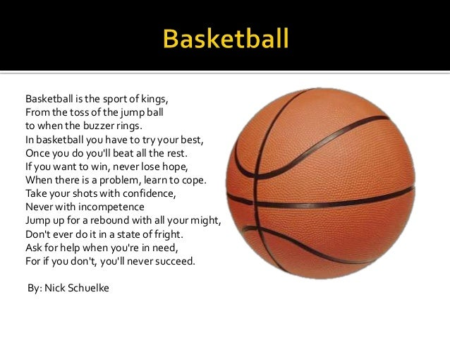 Poems About Sports Easy 80