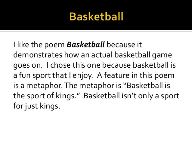 Sport Poems 1