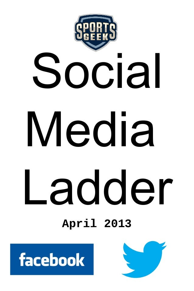 SocialMediaLadder April 2013