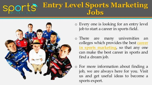 Find The Best Sports Marketing Jobs For A Great Career Marketing Jobs