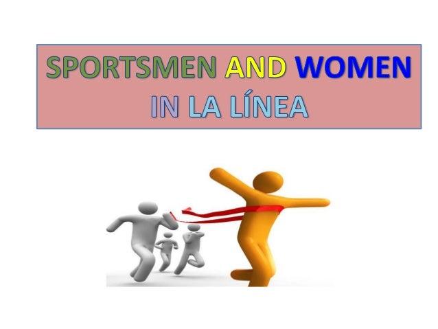 Sportsmen and women from La Línea