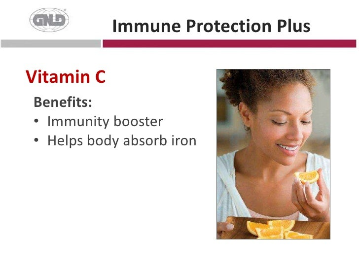 Immune Protection Plus<br />Vitamin C<br />Benefits:<br />Immunity booster<br />Helps body absorb iron<br />