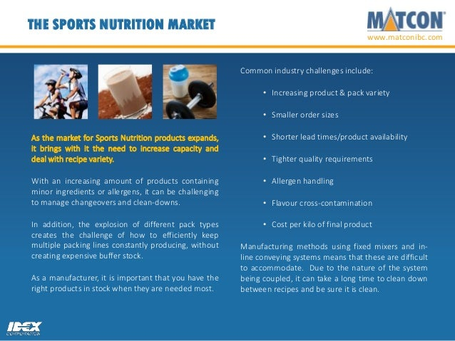 How to improve manufacturing flexibility in Sports Nutrition producti…