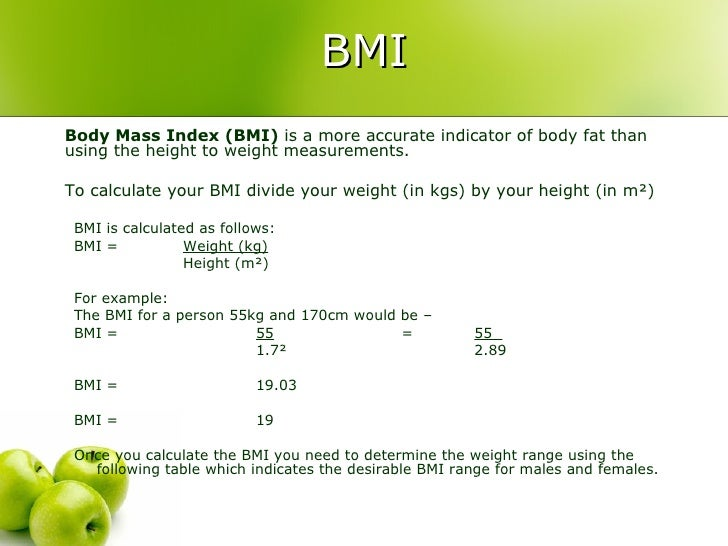 how to calculate body fat percentage using height and weight