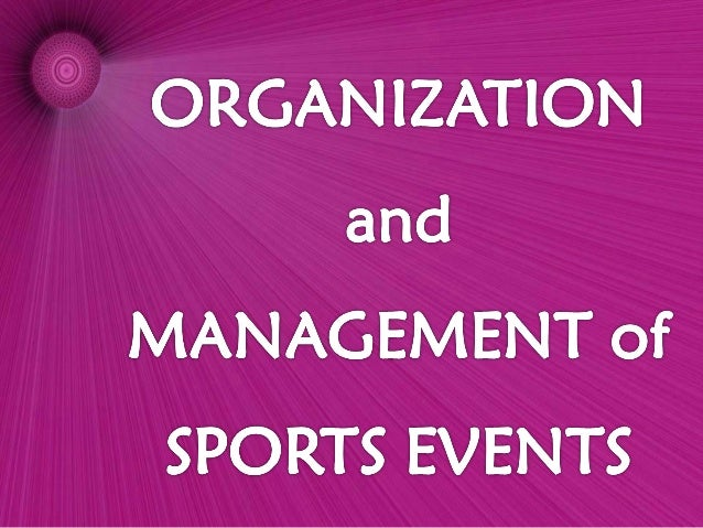  Is a key factor to success in any physical and sports education programs.  It involves long-term strategic plans and pr...