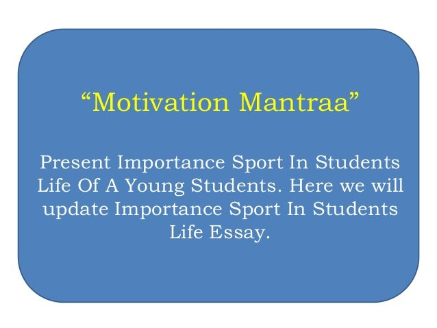 Quotes On Importance Of Sports In Students Life Magnificent Top 10 Sports Quotes For Students Life  Motivation Mantraa