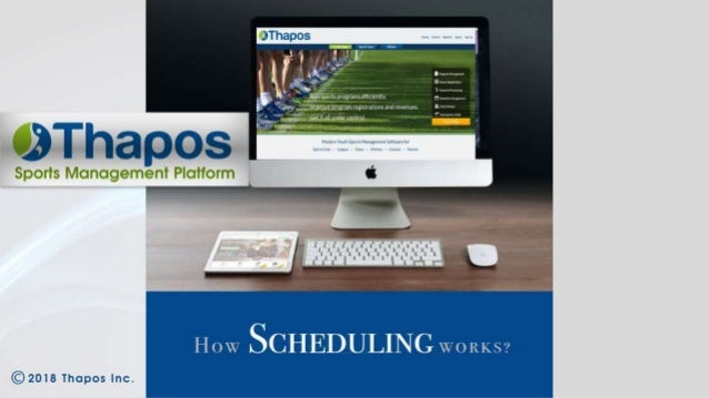 sports scheduling software league schedule maker from thapos