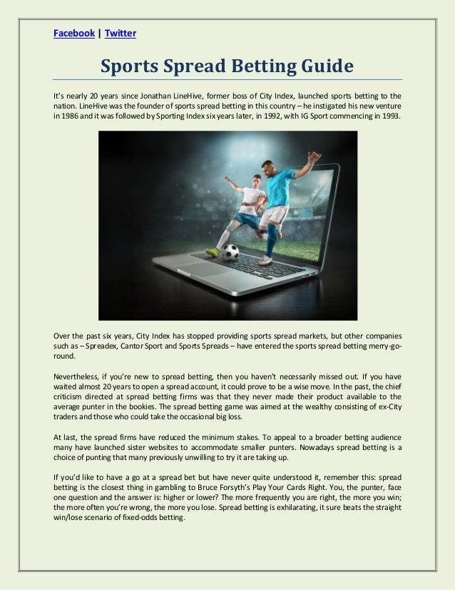 sport spread betting