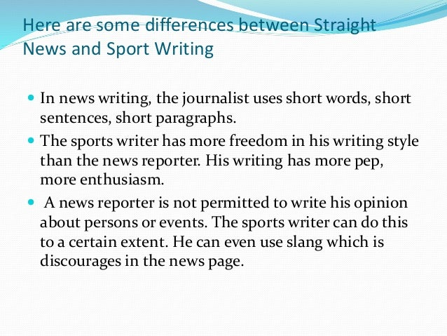 sports writing Find freelance sports-writing experts for hire access 11 sports-writing freelancers and outsource your project.